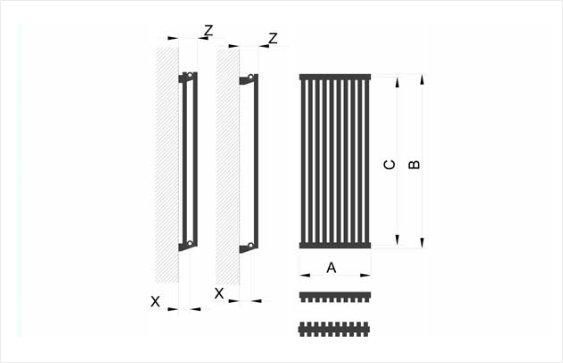 Дизайн радиатор BQ Quantum размеры