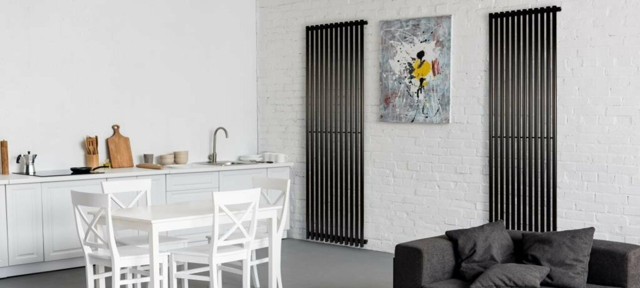 Вертикальные радиаторы – практичность, воплощенная в стиль