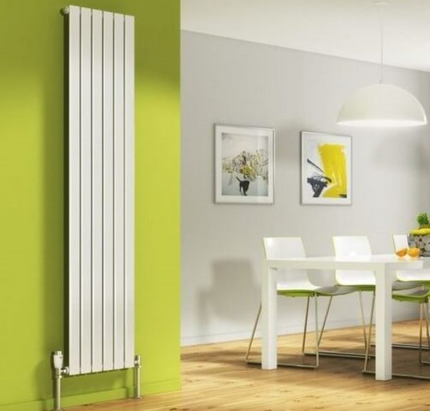 Вертикальный радиатор отопления — не только тепло, но и стильно
