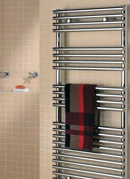 Стильная дизайнерская «изюминка» ванной комнаты - полотенцесушители