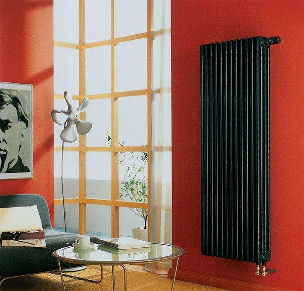 Вертикальный радиатор отопления – идеальный вариант для нестандартных помещений