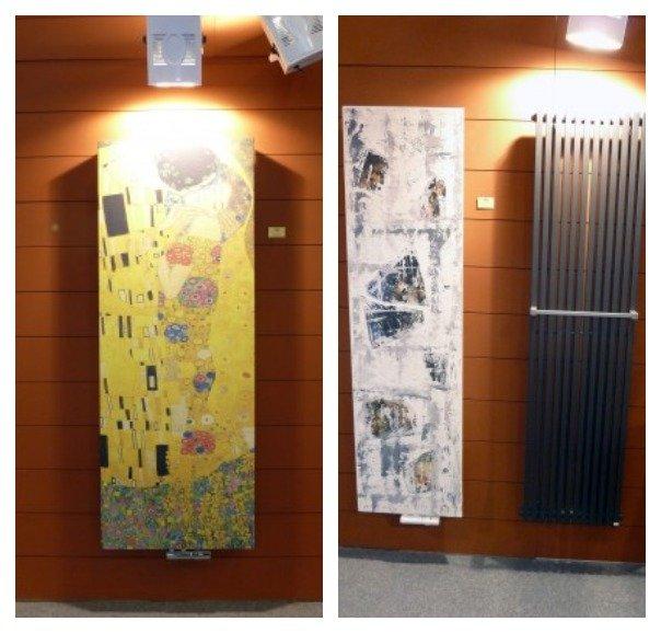 Вертикальные радиаторы отопления – как отдельный вид искусства