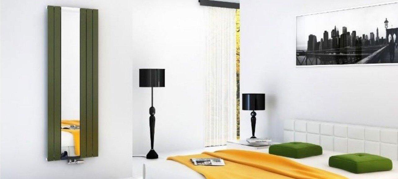 Как использовать вертикальные радиаторы в интерьере