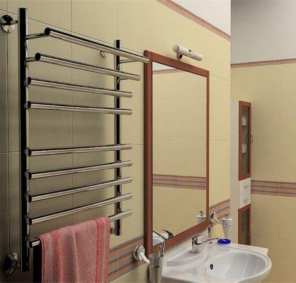 Водяные полотенцесушители: стильность плюс функциональность
