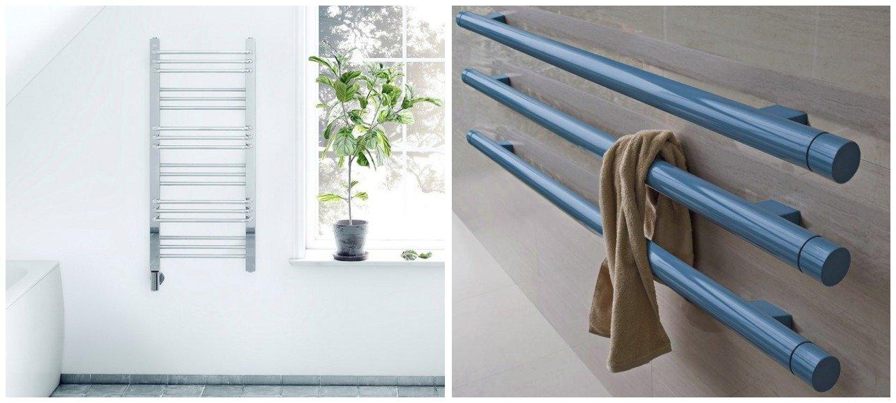 Дизайнерские полотенцесушители — великолепие в каждом изгибе